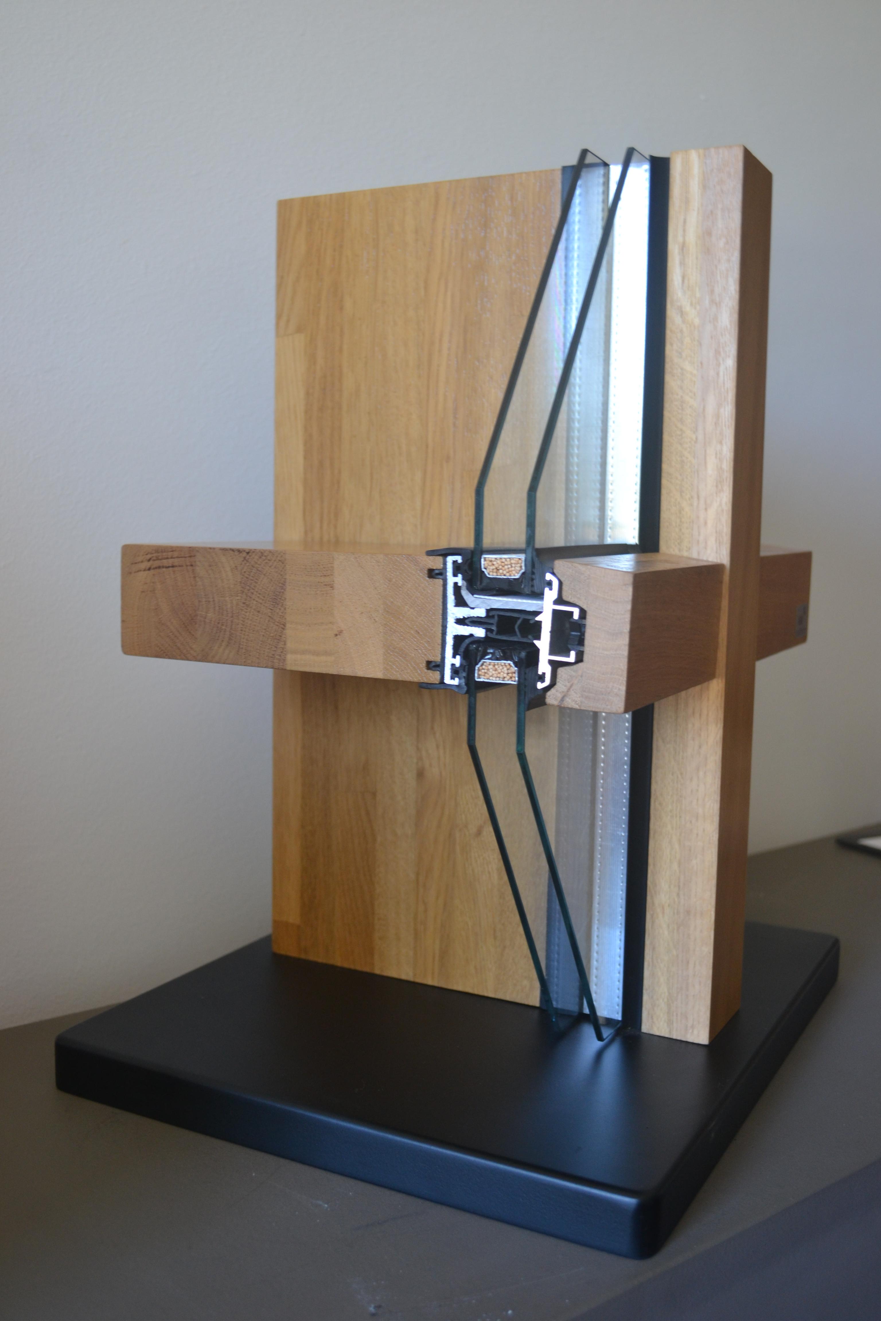Pereti cortina lemn-aluminiu UNIFORM - Poza 2