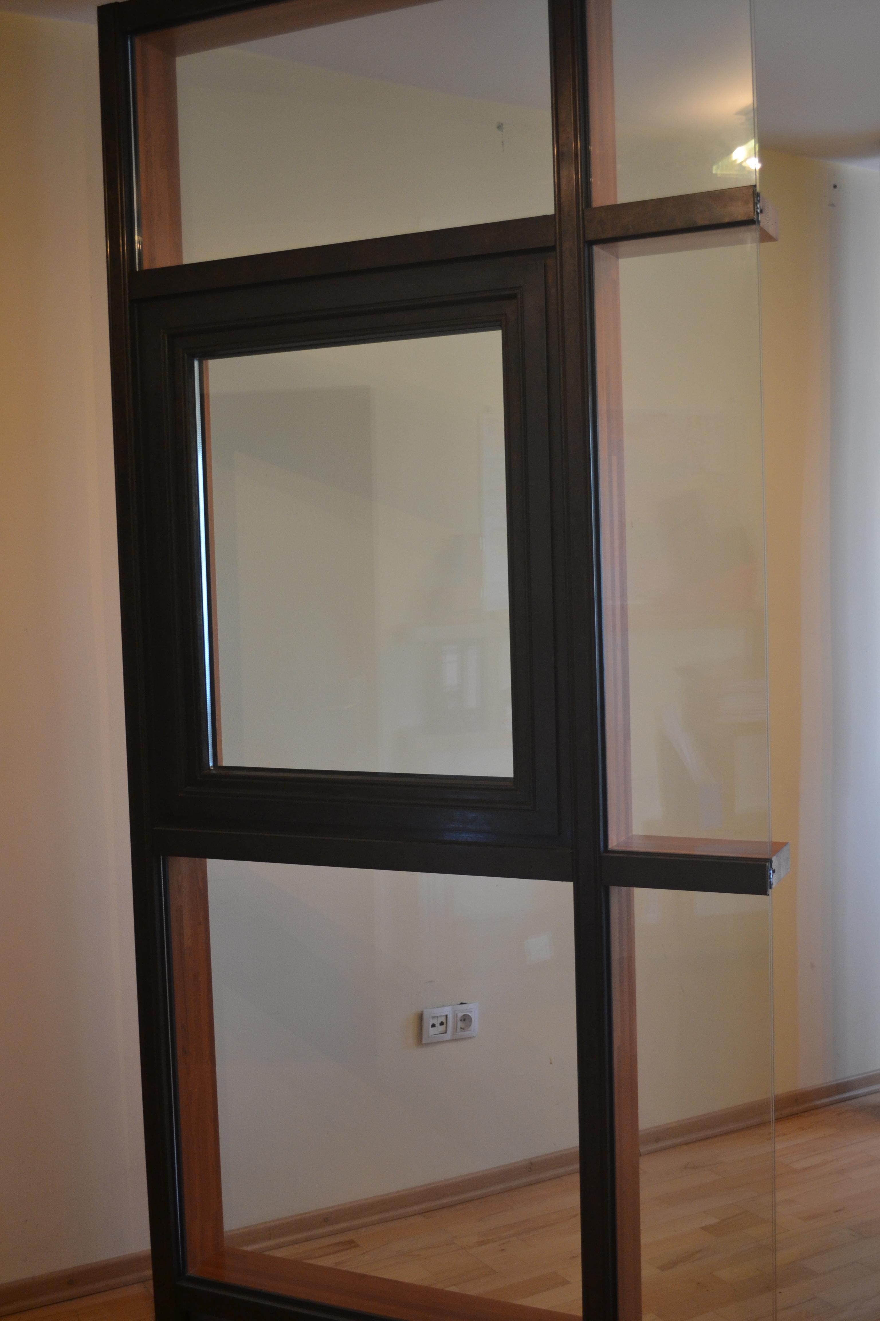 Pereti cortina lemn-aluminiu UNIFORM - Poza 5