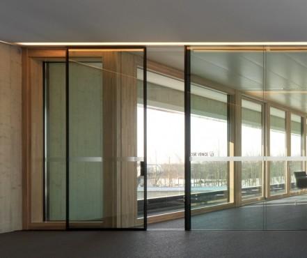 Pereti cortina lemn-aluminiu UNIFORM - Poza 7