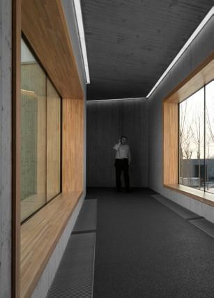 Pereti cortina lemn-aluminiu UNIFORM - Poza 9