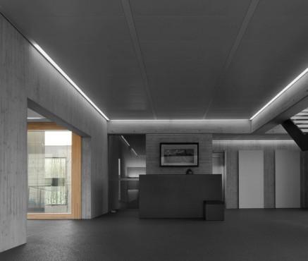Pereti cortina lemn-aluminiu UNIFORM - Poza 11