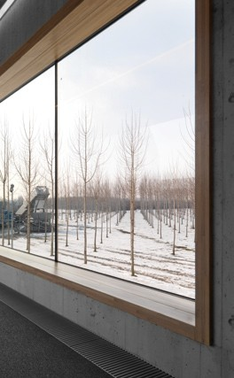 Pereti cortina lemn-aluminiu UNIFORM - Poza 12