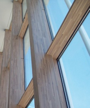 Pereti cortina lemn-aluminiu UNIFORM - Poza 14