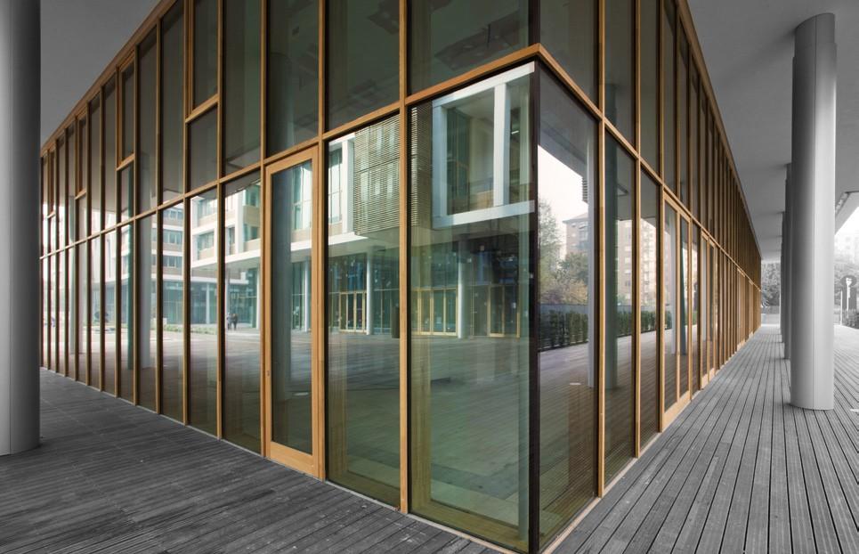 Pereti cortina lemn-aluminiu UNIFORM - Poza 23