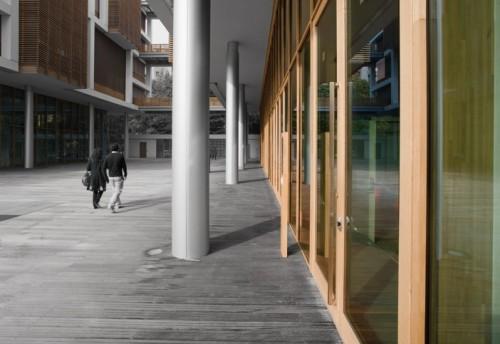 Pereti cortina lemn-aluminiu UNIFORM - Poza 27
