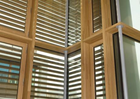 Pereti cortina lemn-aluminiu UNIFORM - Poza 28