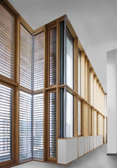 Pereti cortina lemn-aluminiu UNIFORM - Poza 29