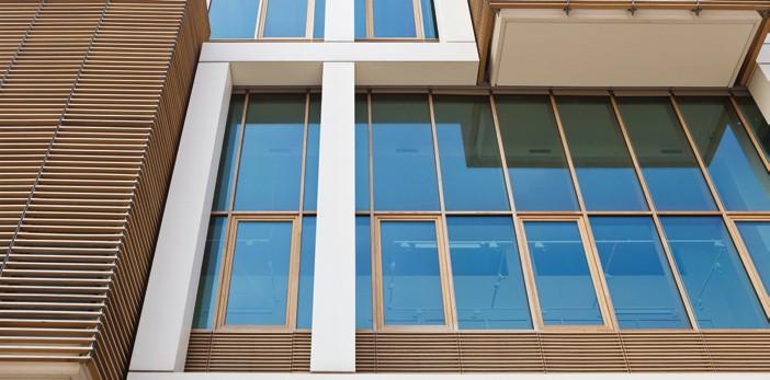 Pereti cortina lemn-aluminiu UNIFORM - Poza 30