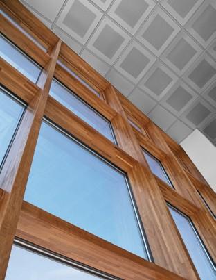 Pereti cortina lemn-aluminiu UNIFORM - Poza 37
