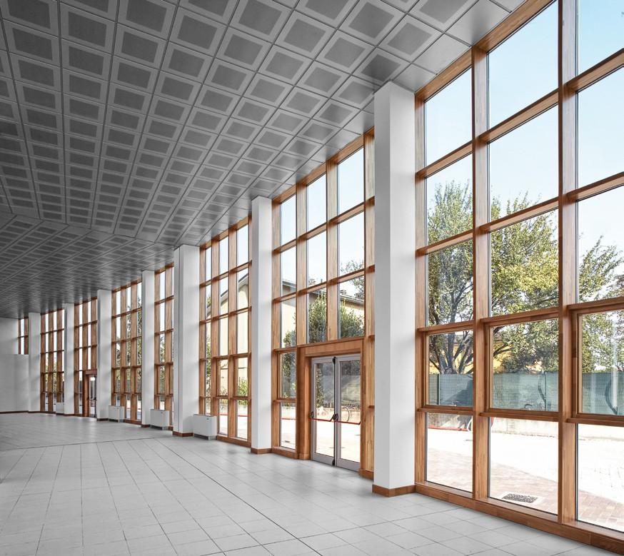 Pereti cortina lemn-aluminiu UNIFORM - Poza 39