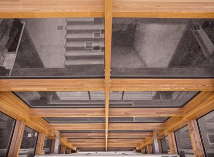 Pereti cortina lemn-aluminiu UNIFORM - Poza 40