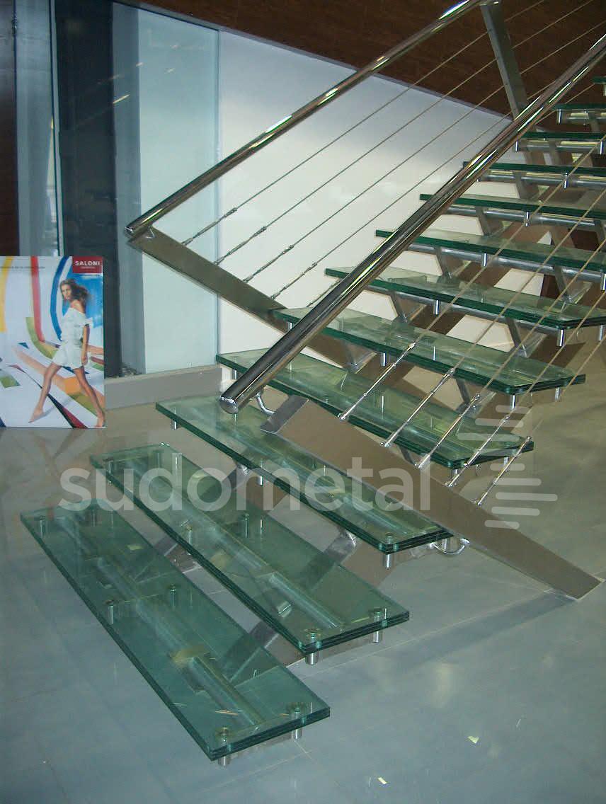 Scari cu vang lateral - Scara cabluri INOX SSAB SUDOMETAL - Poza 3