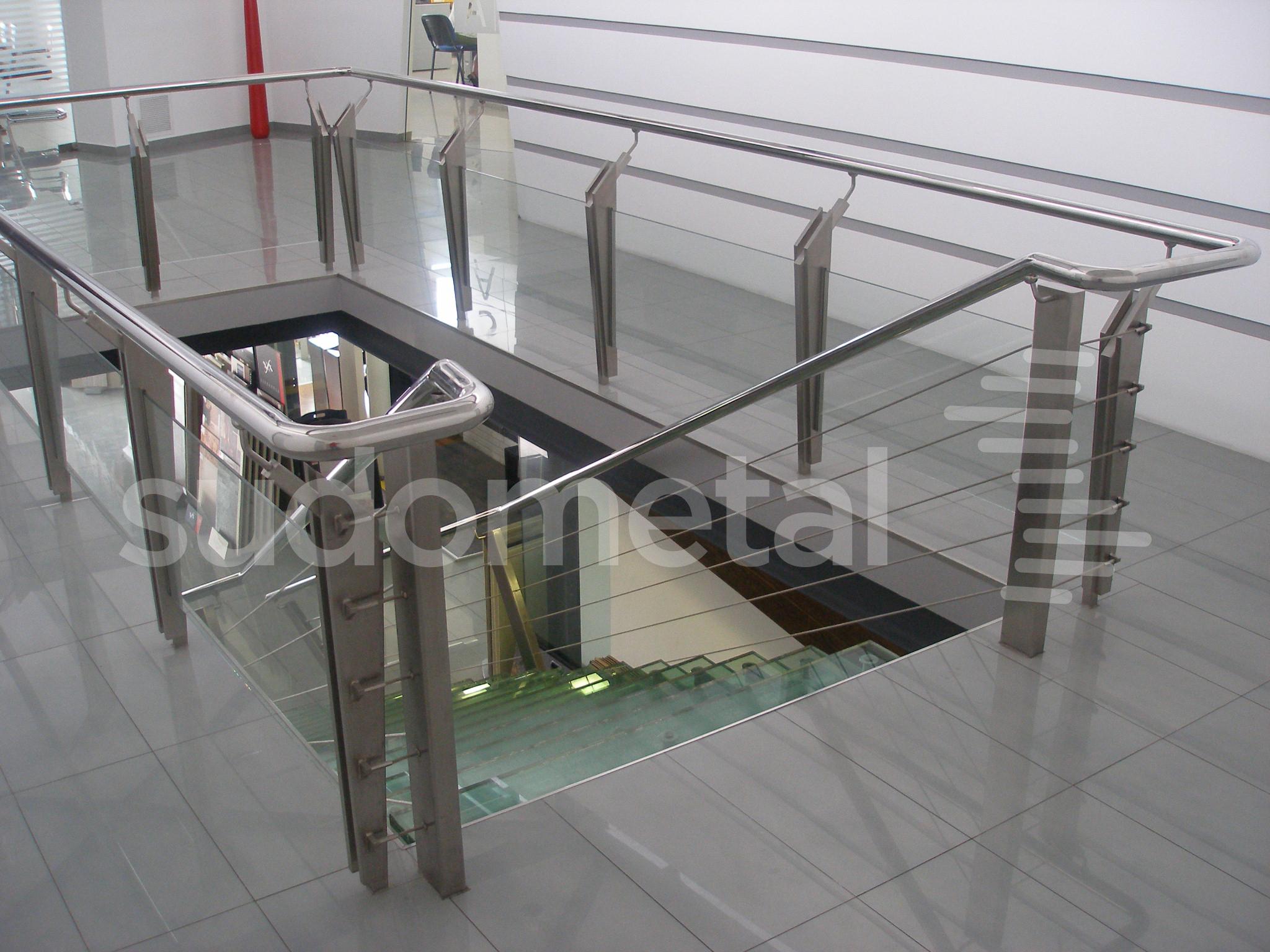Scari cu vang lateral - Scara cabluri INOX SSAB SUDOMETAL - Poza 4