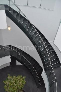 Scari cu vang lateral - Scara circulara sediu S SUDOMETAL - Poza 4