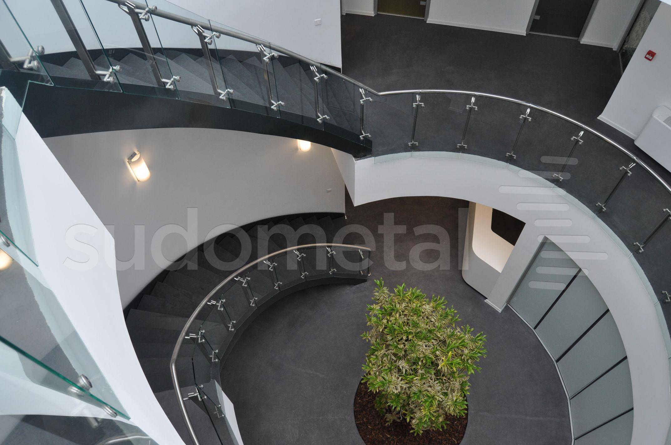 Scari cu vang lateral - Scara circulara sediu S SUDOMETAL - Poza 5