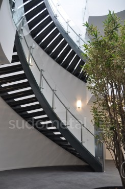 Scari cu vang lateral - Scara circulara sediu S SUDOMETAL - Poza 8