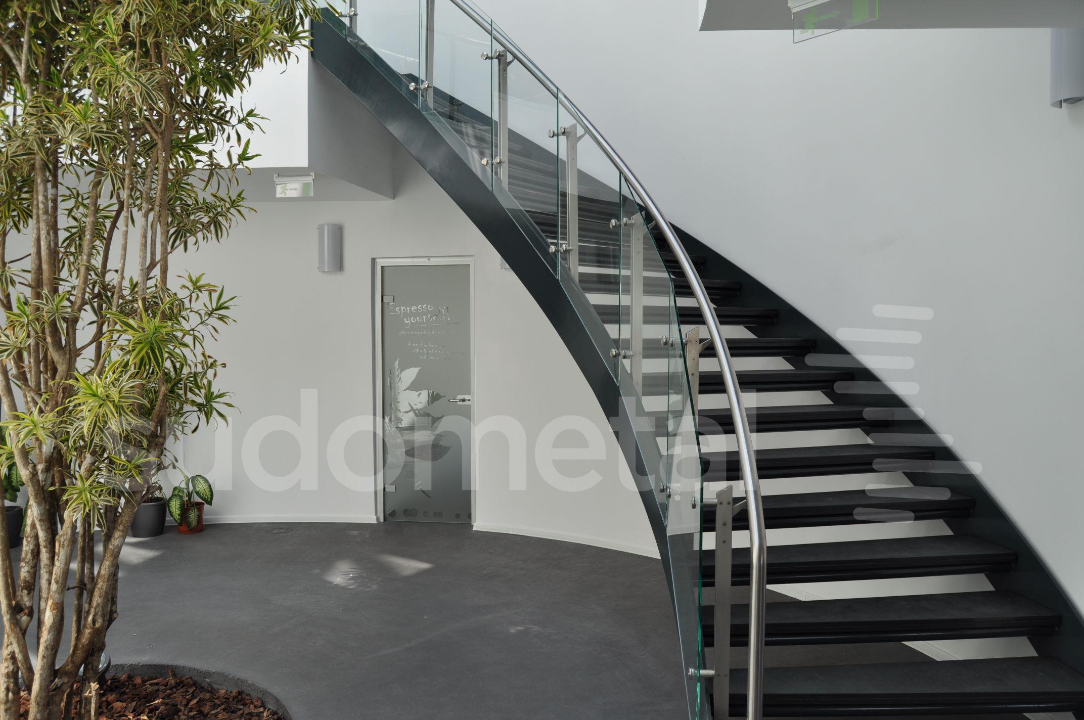Scari cu vang lateral - Scara circulara sediu S SUDOMETAL - Poza 10