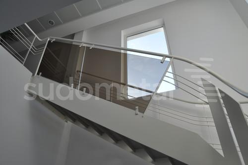 Scari cu vang lateral - Scara design showroom  SUDOMETAL - Poza 2