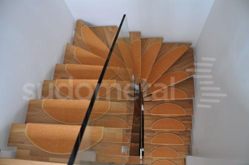 Scari cu vang central - Scara balansata casa particulara SUDOMETAL - Poza 2