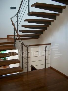 Scari cu trepte incastrate casa particulara SUDOMETAL - Poza 1