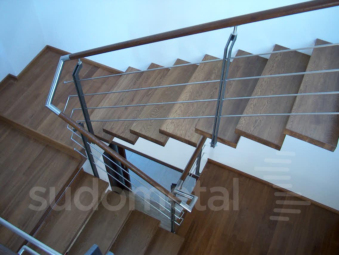 Scari cu trepte incastrate casa particulara SUDOMETAL - Poza 3