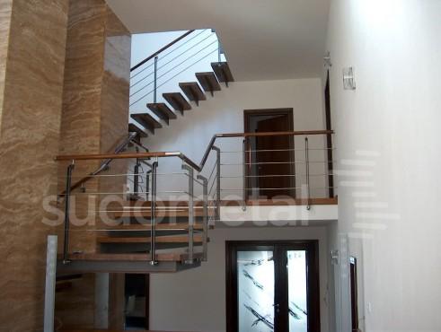 Scari cu trepte incastrate casa particulara SUDOMETAL - Poza 4