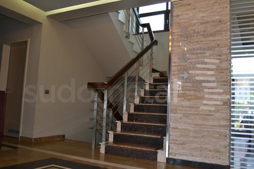 Balustrade din inox-lemn - Balustrada Hotel Tolea SUDOMETAL - Poza 3