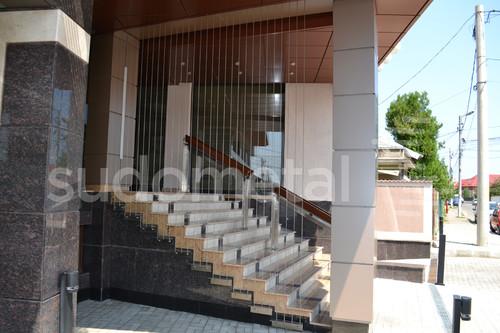 Balustrade din inox-lemn - Balustrada Hotel Tolea SUDOMETAL - Poza 4