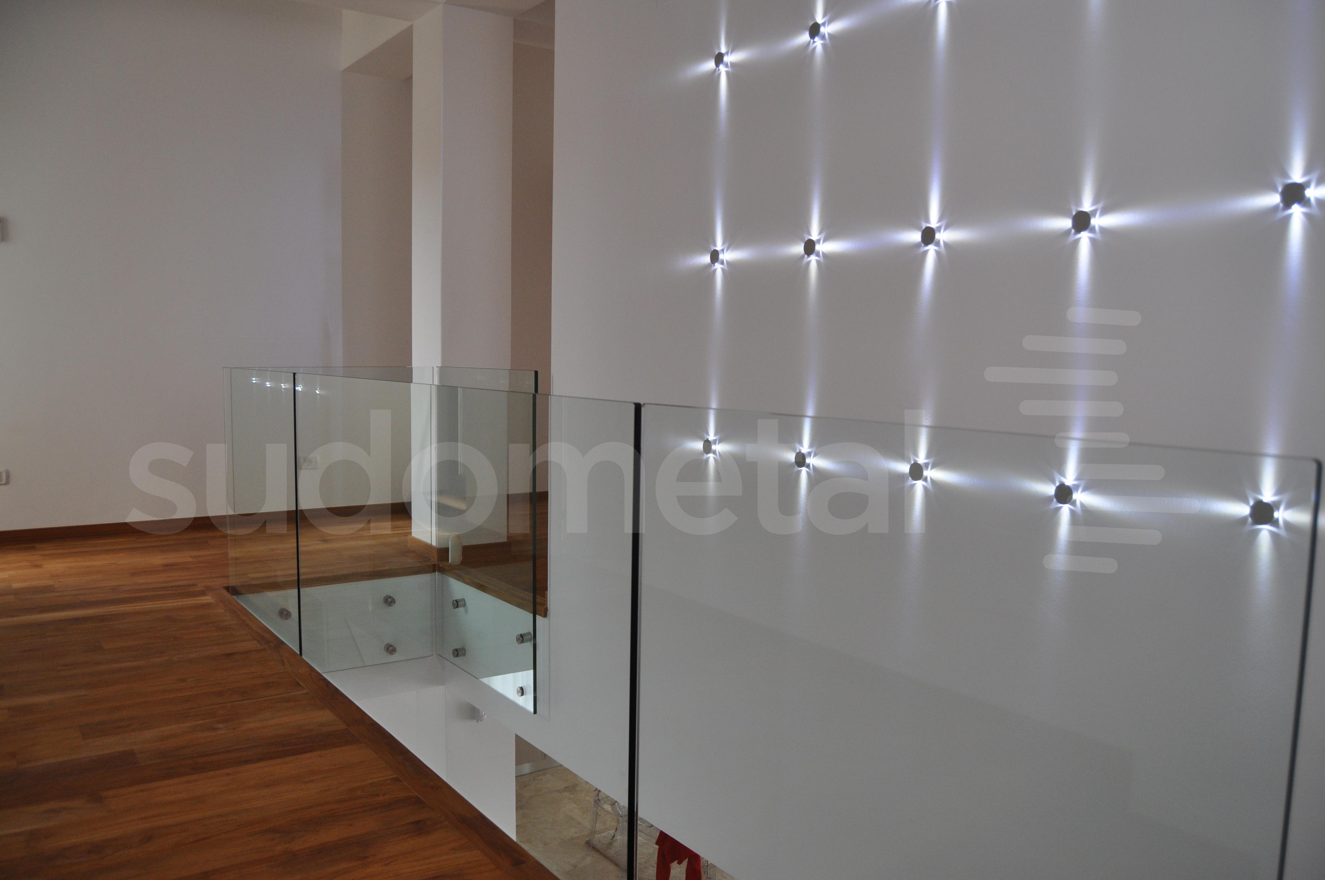Balustrade din sticla - Balustrada casa particulara Corbeanca SUDOMETAL - Poza 4