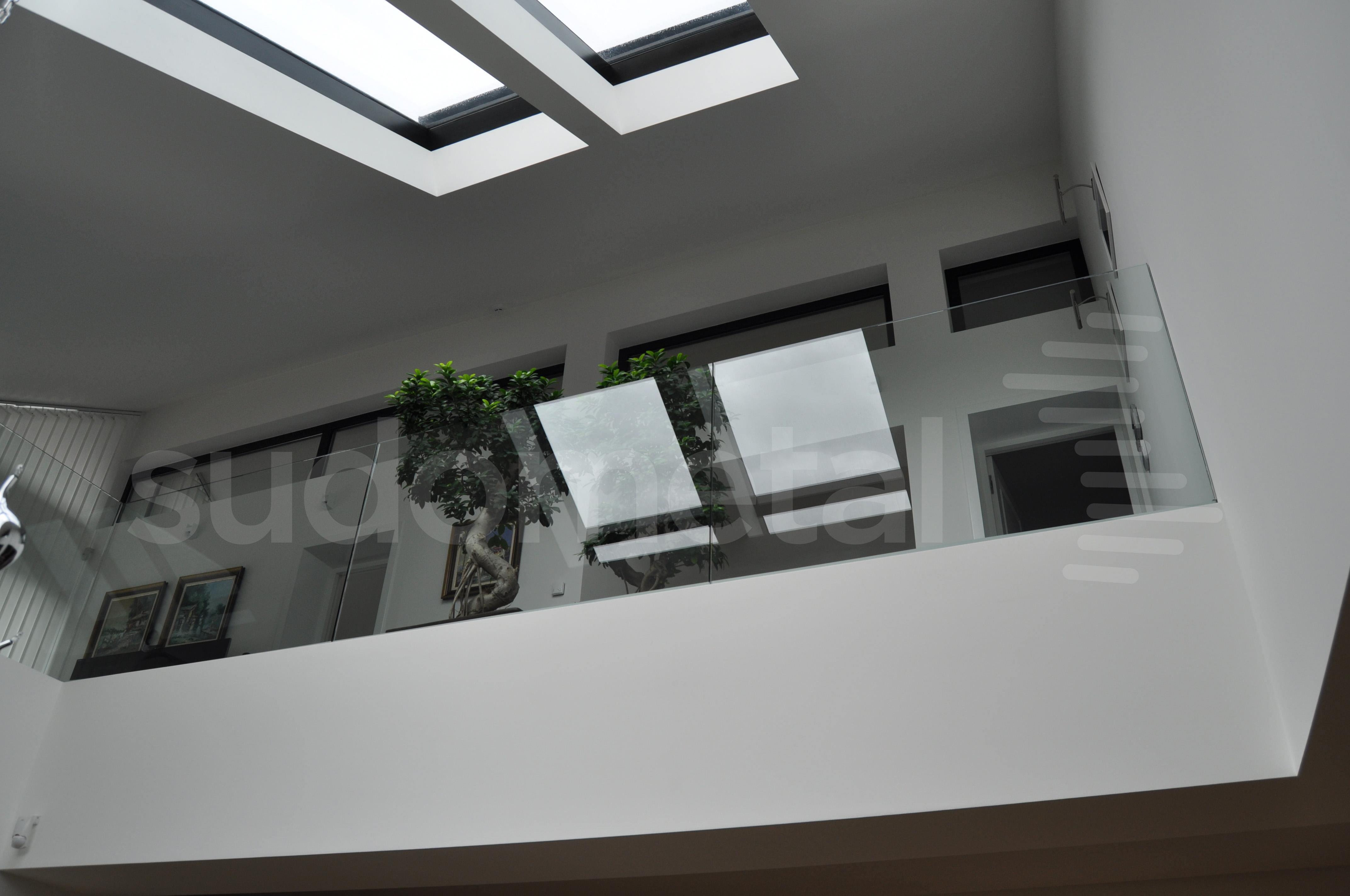 Balustrade din sticla - Balustrada casa particulara Suceava SUDOMETAL - Poza 1