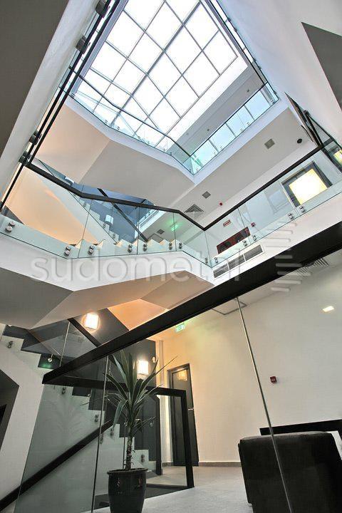 Balustrade din sticla - Balustrada EMD Bacau SUDOMETAL - Poza 1