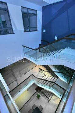 Balustrade din sticla - Balustrada EMD Bacau SUDOMETAL - Poza 2