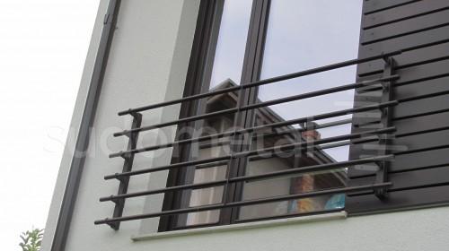 Balustrade din sticla - Balustrada din sticla tripla casa particulara Bacau SUDOMETAL - Poza 7