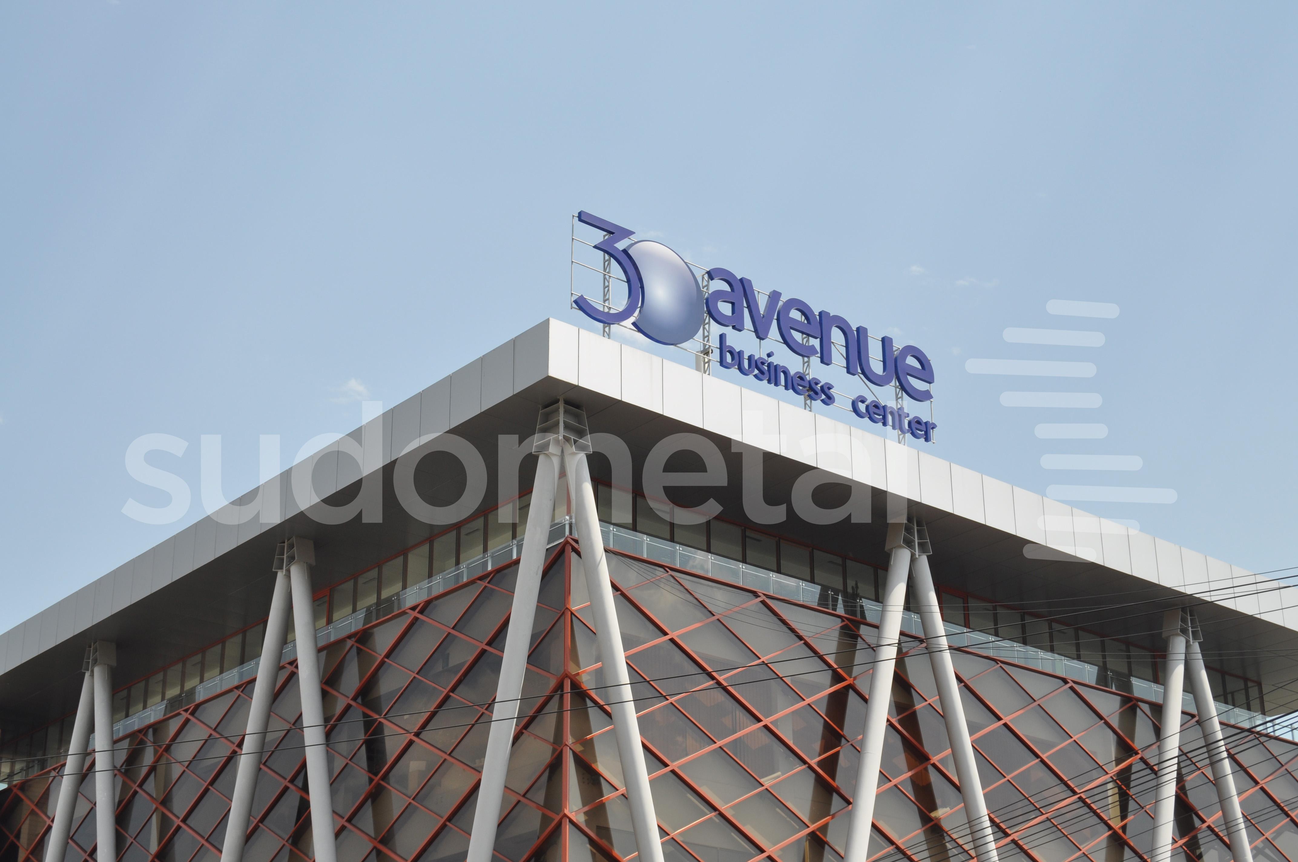 Balustrade exterioare - Balustrade cladire de birouri 30 Avenue, Bacau SUDOMETAL - Poza 1
