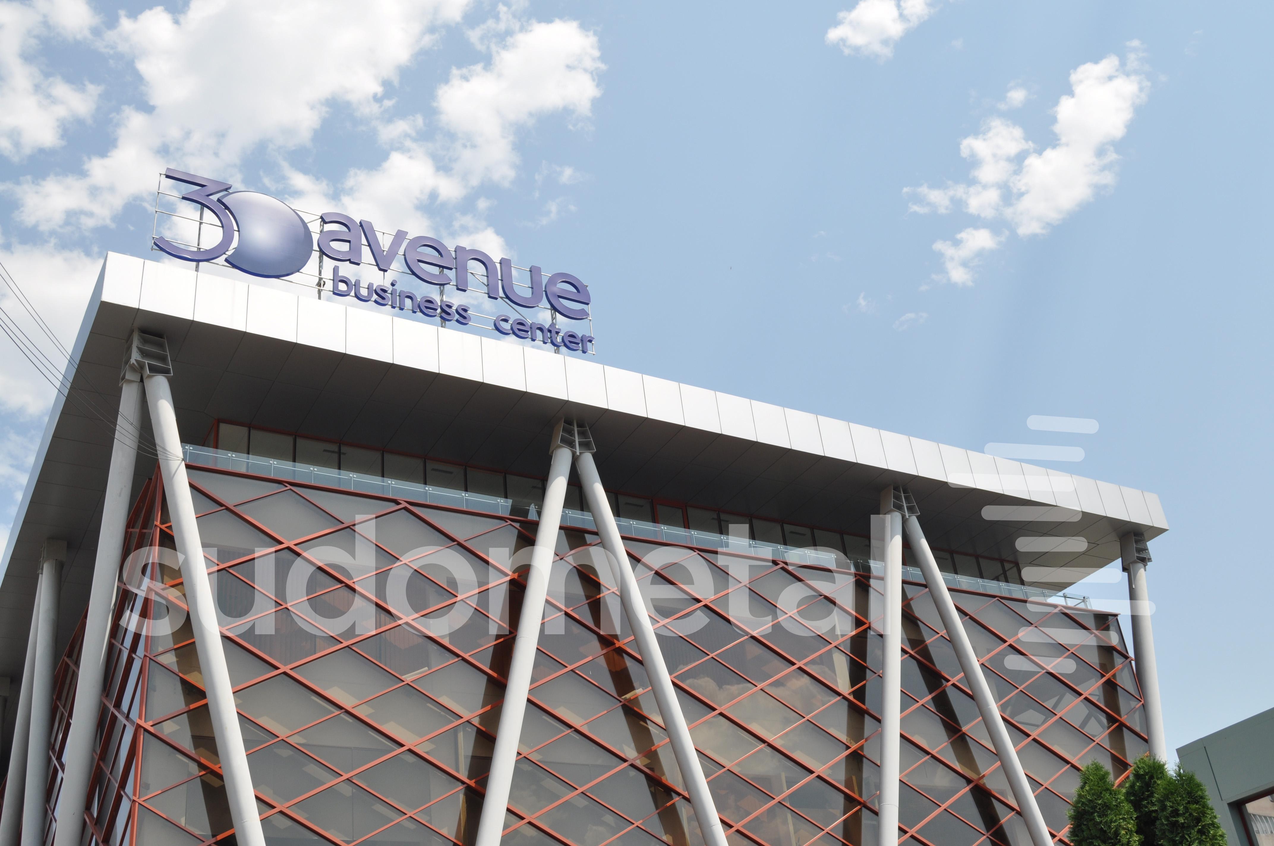 Balustrade exterioare - Balustrade cladire de birouri 30 Avenue, Bacau SUDOMETAL - Poza 2