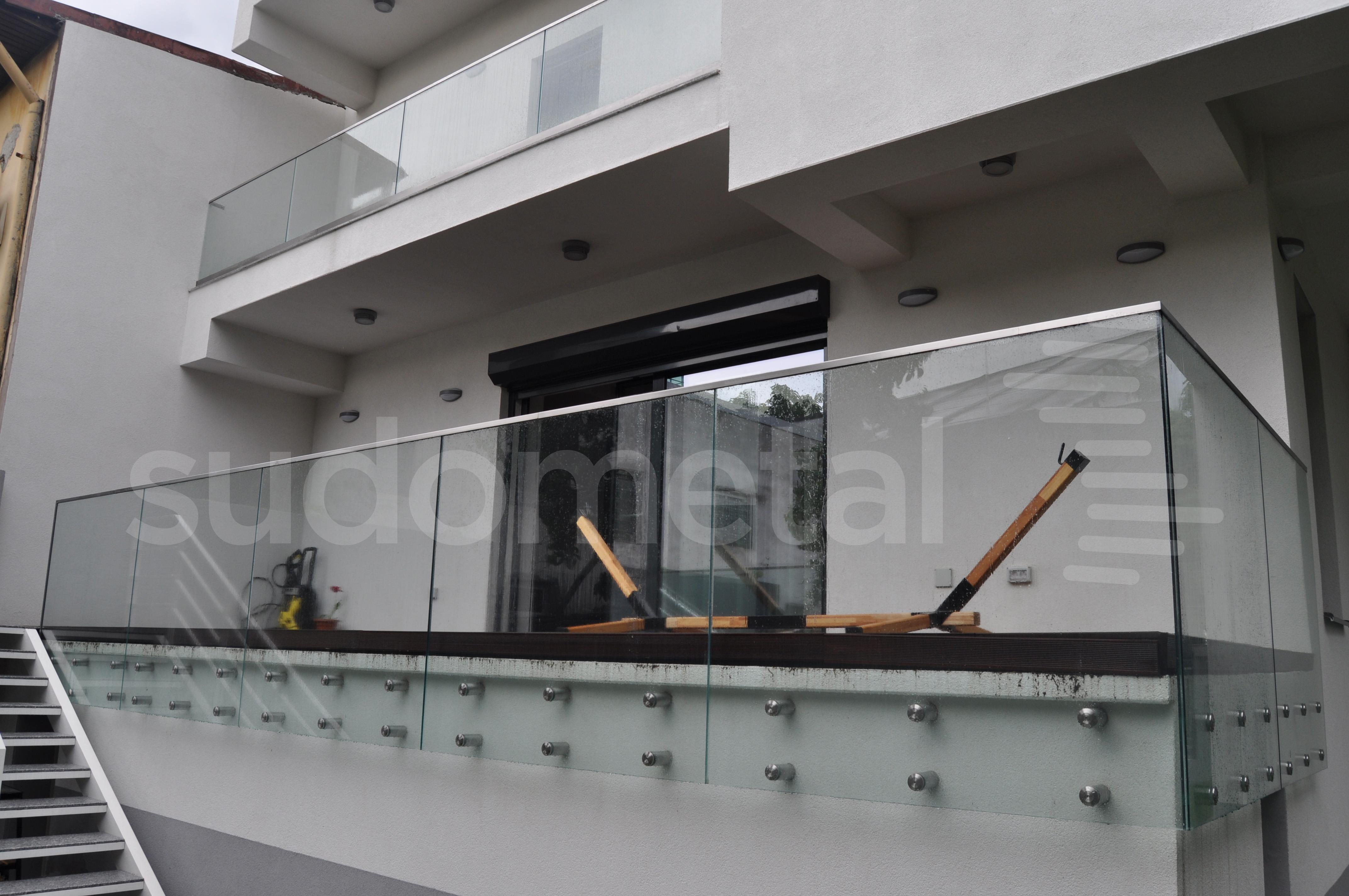 Balustrade exterioare - Balustrade casa particulara Bucuresti SUDOMETAL - Poza 1