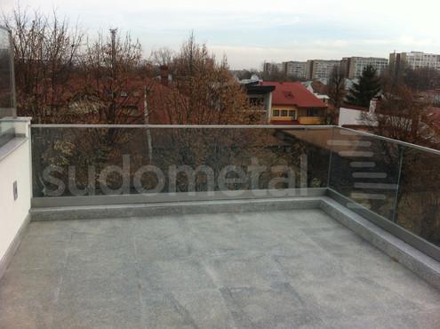 Balustrade exterioare - Balustrade casa particulara Bucuresti SUDOMETAL - Poza 4