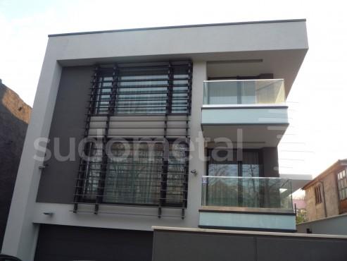 Balustrade exterioare - Balustrade casa particulara Galati SUDOMETAL - Poza 1