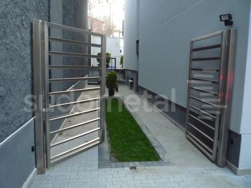 Balustrade exterioare - Balustrade casa particulara Galati SUDOMETAL - Poza 3