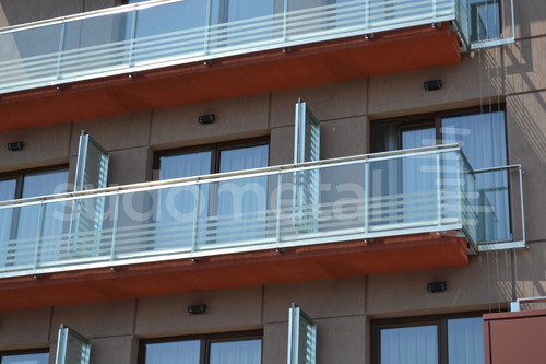 Balustrade exterioare - Balustrade Hotel Tolea SUDOMETAL - Poza 3