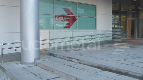 Balustrade exterioare - Balustrade Mall Ruse Bulgaria SUDOMETAL - Poza 1
