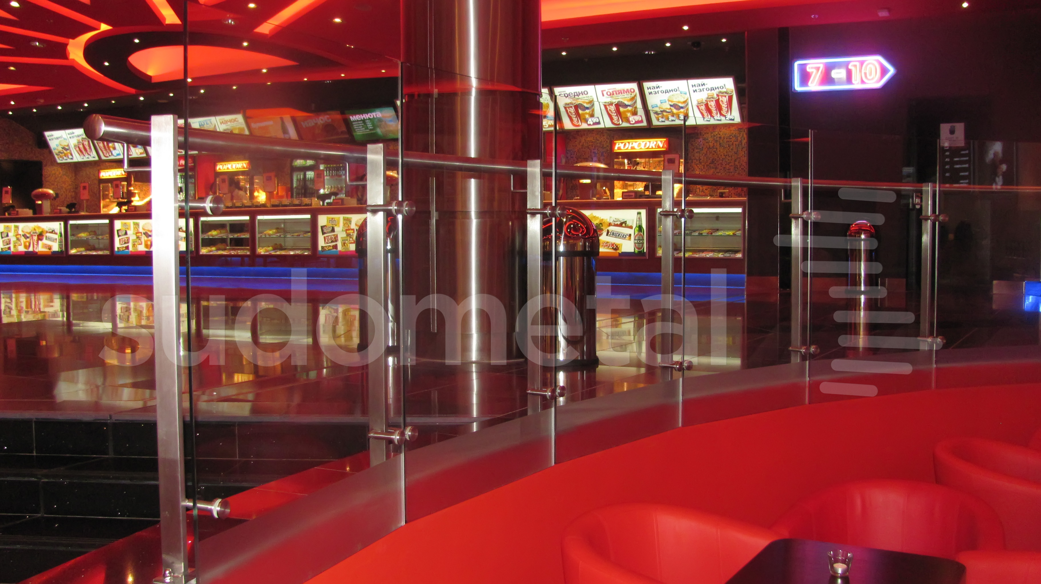 Balustrade exterioare - Balustrade Mall Ruse Bulgaria SUDOMETAL - Poza 2
