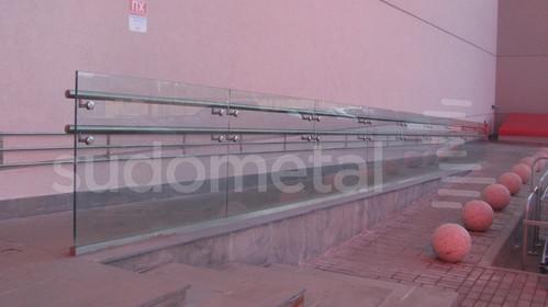Balustrade exterioare - Balustrade Mall Ruse Bulgaria SUDOMETAL - Poza 4