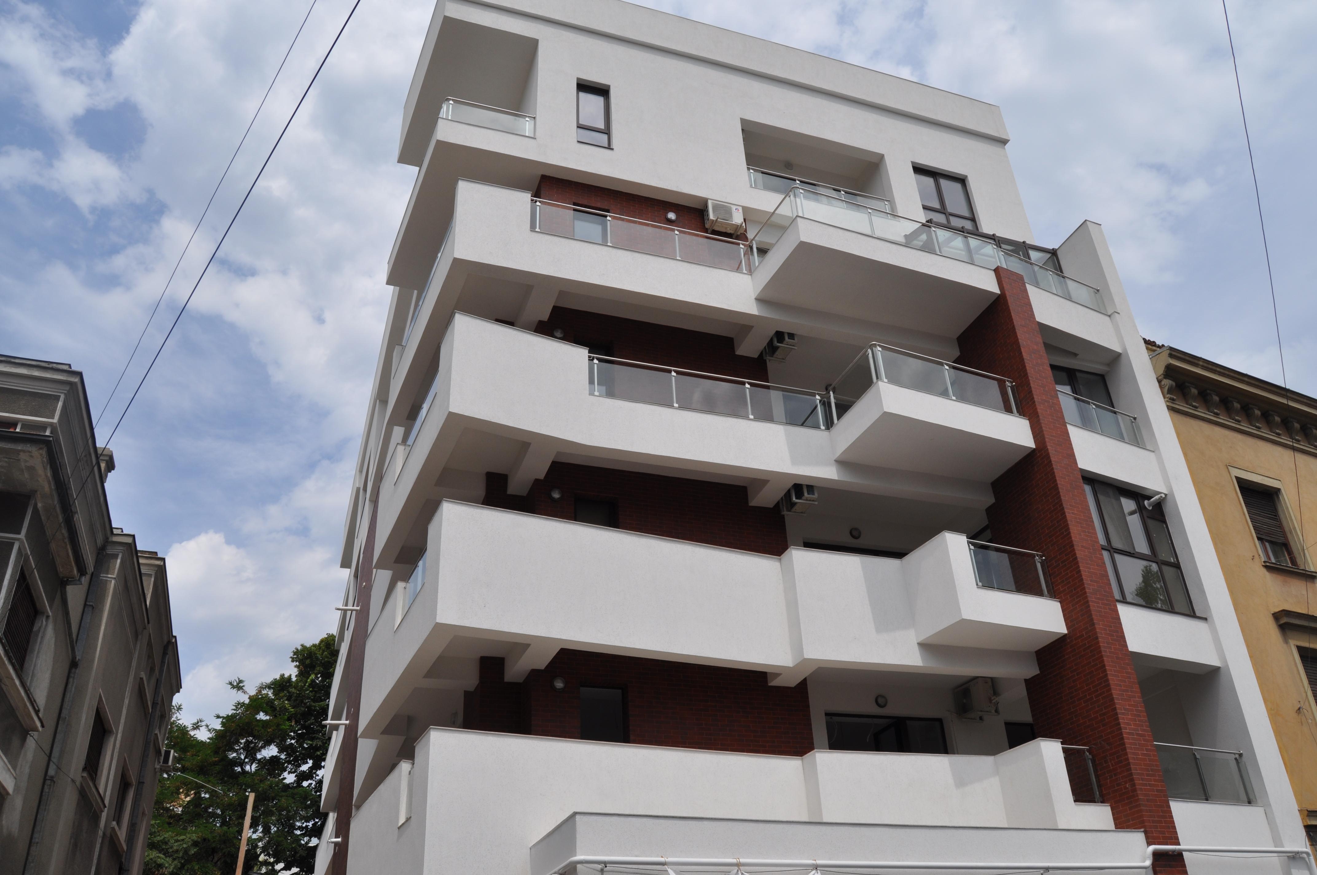 Balustrade exterioare - Balustrade Residence Inn Dorobanti, Bucuresti SUDOMETAL - Poza 1
