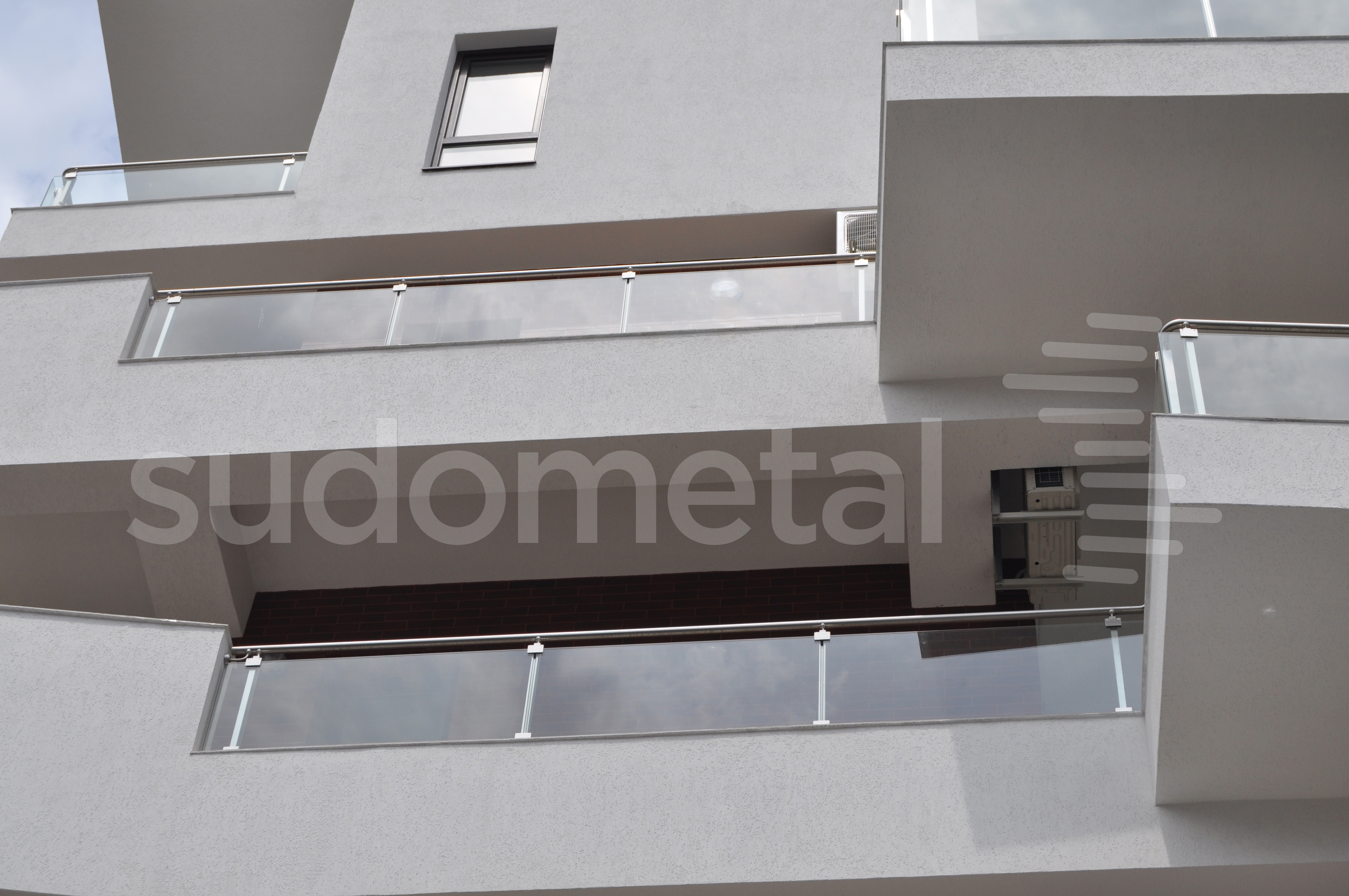 Balustrade exterioare - Balustrade Residence Inn Dorobanti, Bucuresti SUDOMETAL - Poza 3