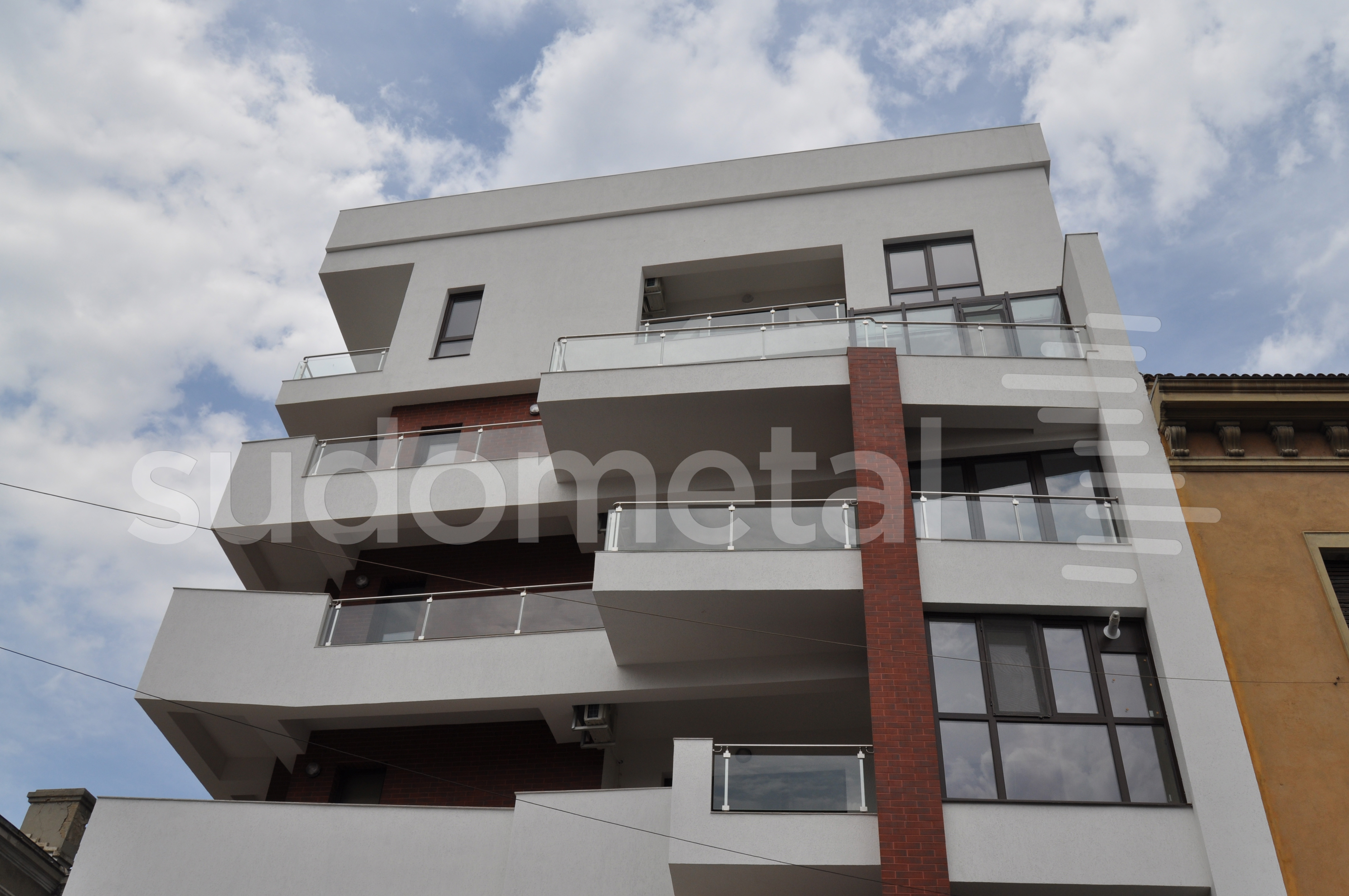 Balustrade exterioare - Balustrade Residence Inn Dorobanti, Bucuresti SUDOMETAL - Poza 4