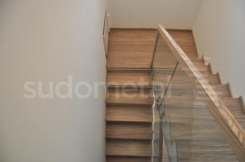 Balustrade, maini curente placate cu lemn SUDOMETAL - Poza 1
