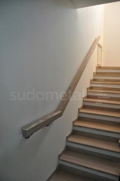 Balustrade, maini curente placate cu lemn SUDOMETAL - Poza 4