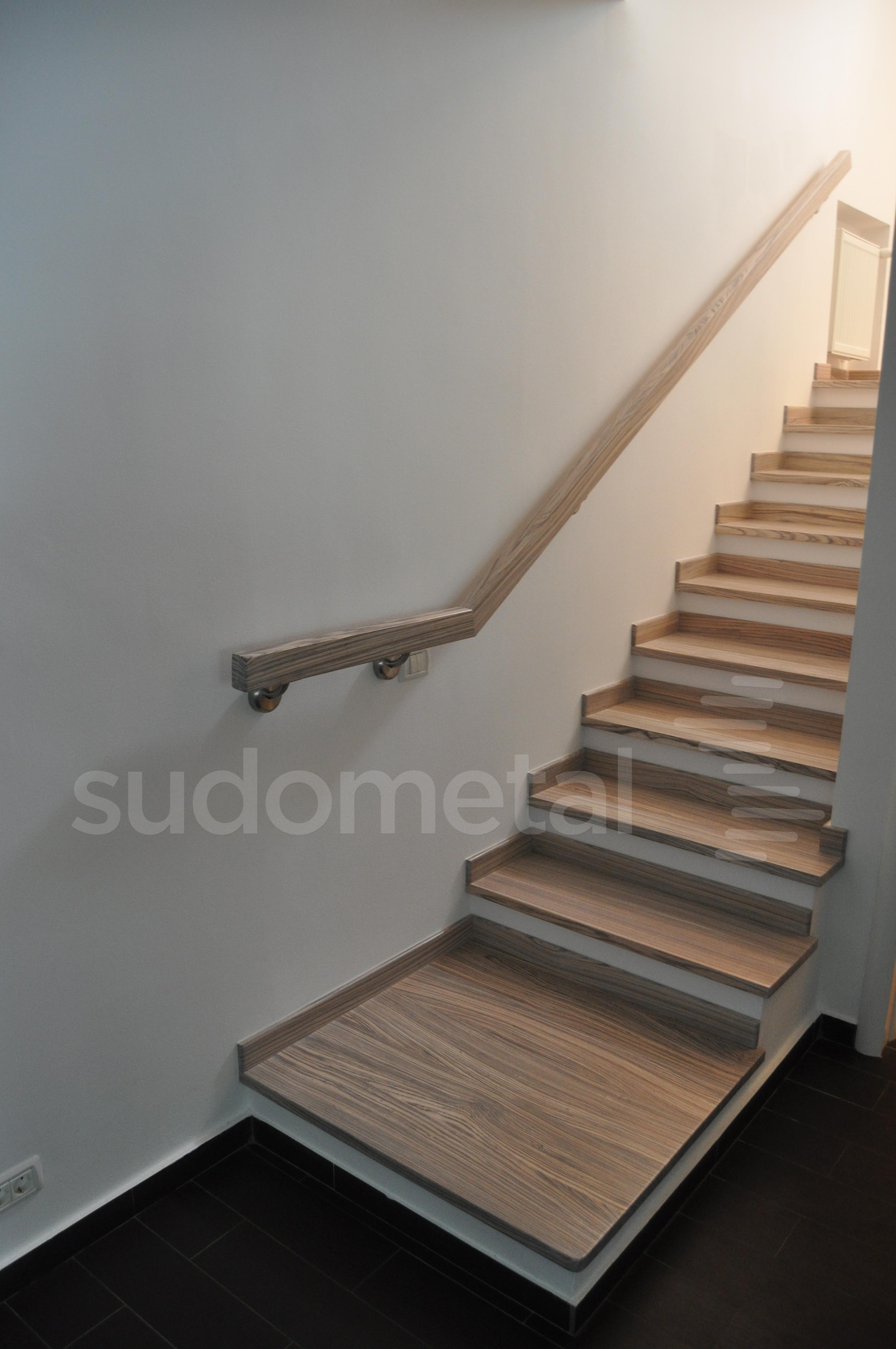 Balustrade, maini curente placate cu lemn SUDOMETAL - Poza 6