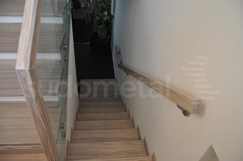 Balustrade, maini curente placate cu lemn SUDOMETAL - Poza 7